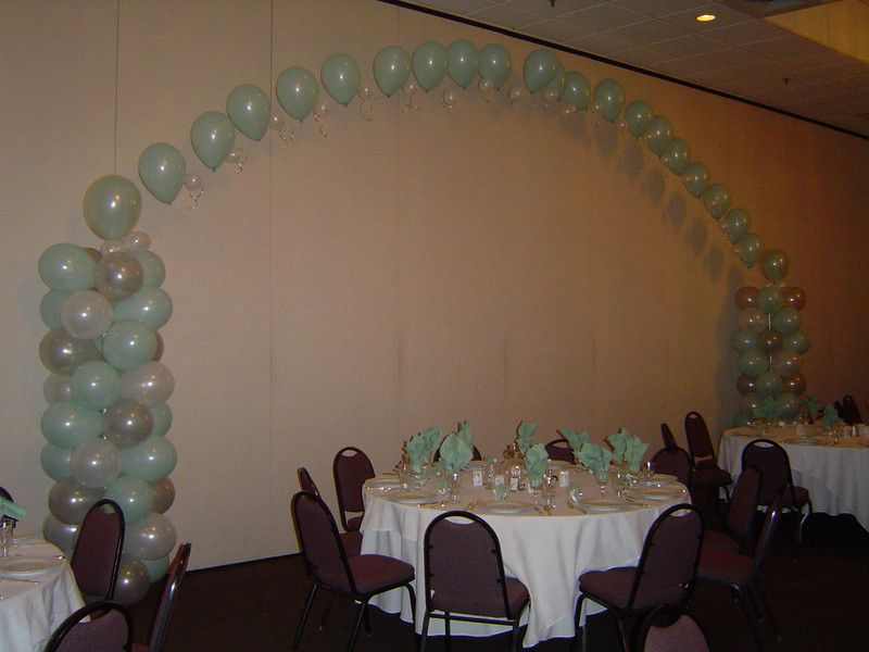 Quinceanera balloon decorations we should do this with our for Balloon decoration for quinceanera