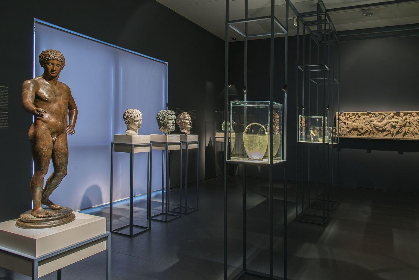 The Exhibition C The Israel Museum Jerusalem By Elie Posner Israelmuseum Aristocratictaste Belfer Exhibition Ancient Art Ancient Romans