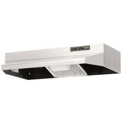 Broan Nutone 40000 Series 30 In Under Cabinet Range Hood With Light In Stainless Steel 403004 The Home Depot Broan Under Cabinet Range Hoods Range Hood