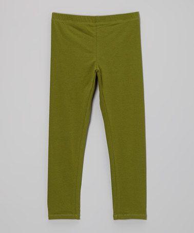 Green Skinner Pants - Infant, Toddler & Girls by Llum #zulily #zulilyfinds