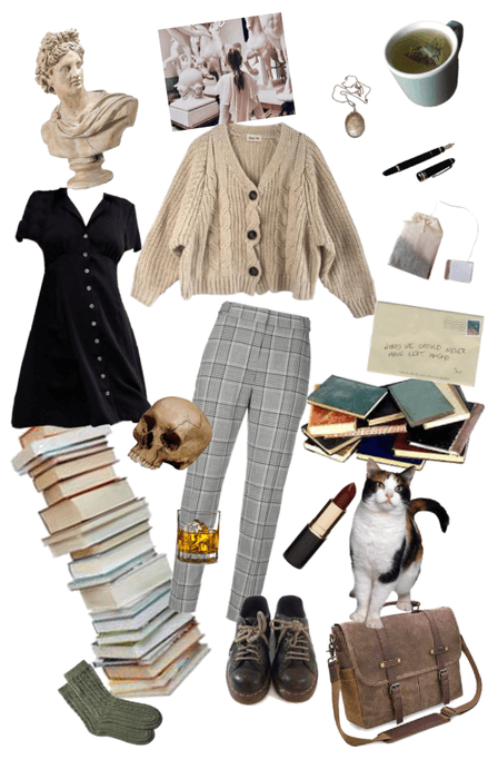 Light Academia Outfit Shoplook Aesthetic Fashion Fashion Inspo Outfits Aesthetic Clothes Some of light academia aestethics picture part. fashion inspo outfits aesthetic clothes