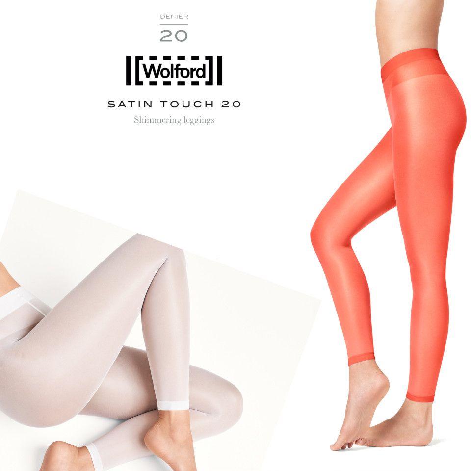 Bright Orange 40 Denier Super Soft Smooth Tights by Flirt One Size