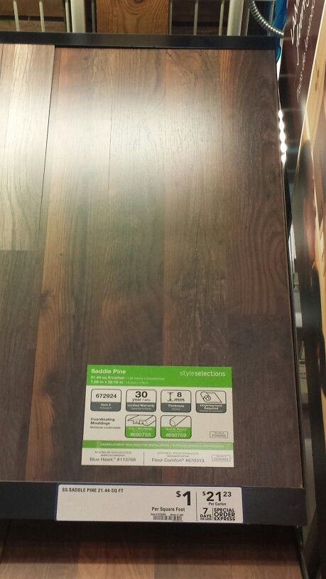 Saddle Pine Floors Lowes