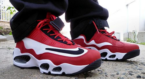 on sale 28ebc 8e4d1 Nike Air Griffey Max 1 Red White Black