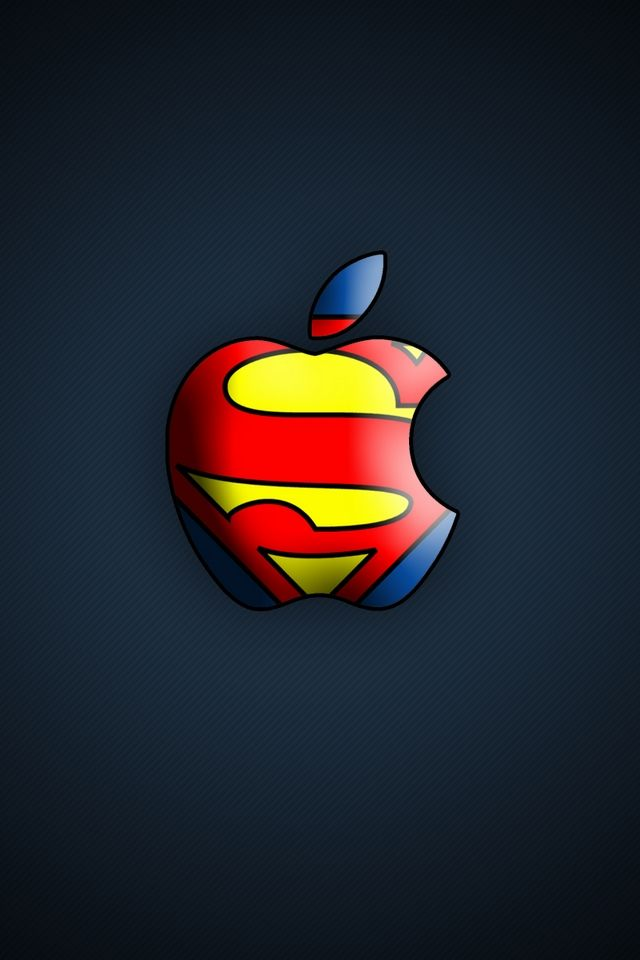 Superman Apple 5550 Wallpaper Camlib Apple Wallpaper Apple