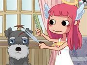 Free Online Girl Games, Give each pet a crazy hairstyle while the hairdresser isn't looking in Devilish Pet Salon!  You'll have to work quickly because if you get caught, you'll be banned from the salon!  See if you can give all 10 pets a new style!, #devilish #pet #salon #pet #girl #decorating #animal