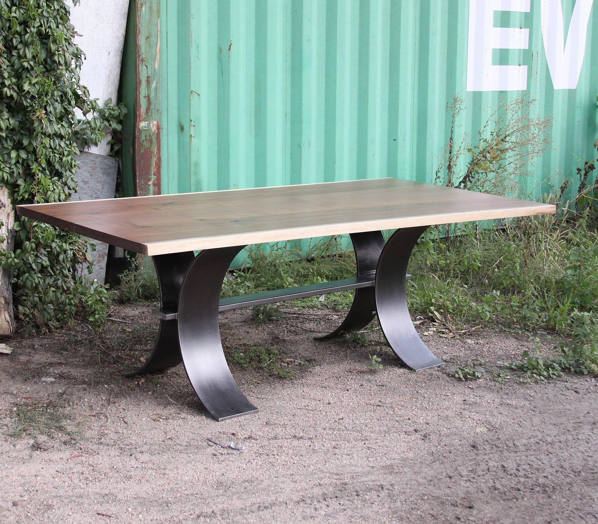 Where Wood Meets Steel Custom Furniture Designed Built In Denver
