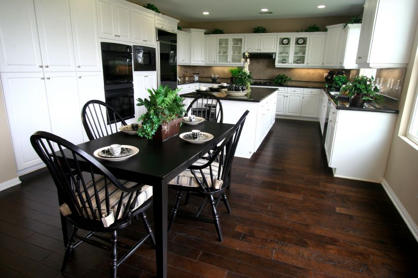 48 Stunning White Kitchen Ideas Hand Selected From 1 000 S Of Submissions Brown Kitchen Tables Kitchen Table Wood White Kitchen Table