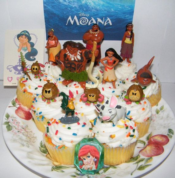Disney Moana Movie Cake Toppers Baking By
