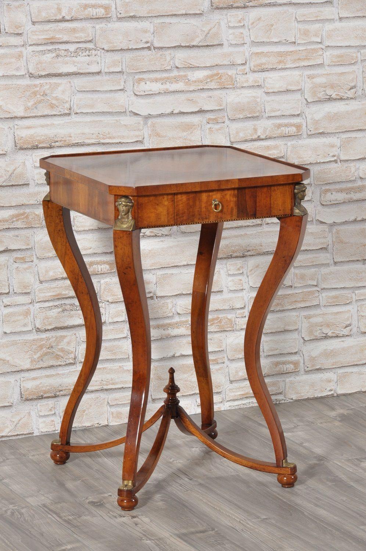 Tavolini Da Salotto Classici Quadrati.Elegante Tavolino Quadrato Da Ingresso In Stile Primo Impero
