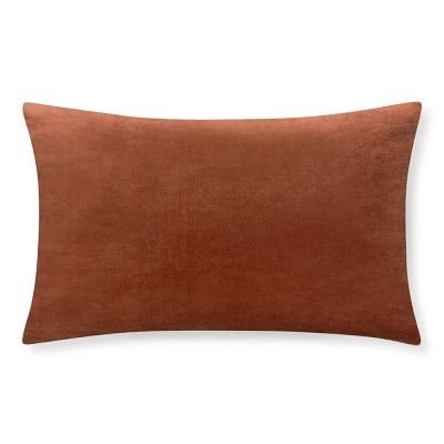 Velvet Lumbar Pillow Cover 40 X 40 Shrimp Velvet Pillows Extraordinary Lumbar Pillow Inserts 14 X 22