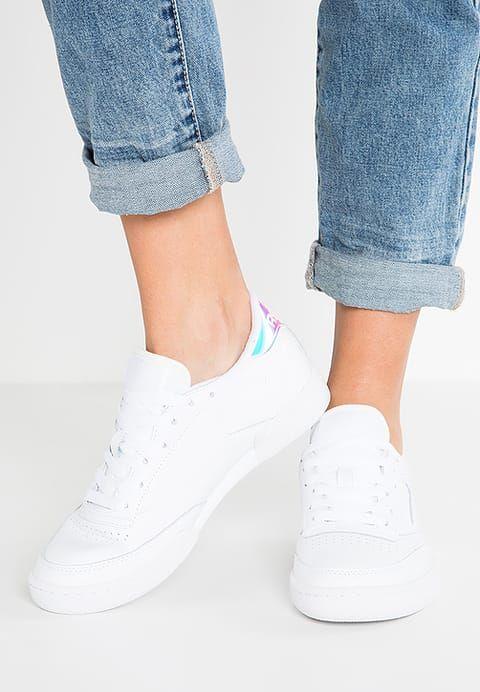 finest selection 2d552 14086 Chaussures Reebok Classic CLUB C 85 RD - Baskets basses - white blanc   100,00 € chez Zalando (au 16 02 17). Livraison et retours gratuits et service  client ...