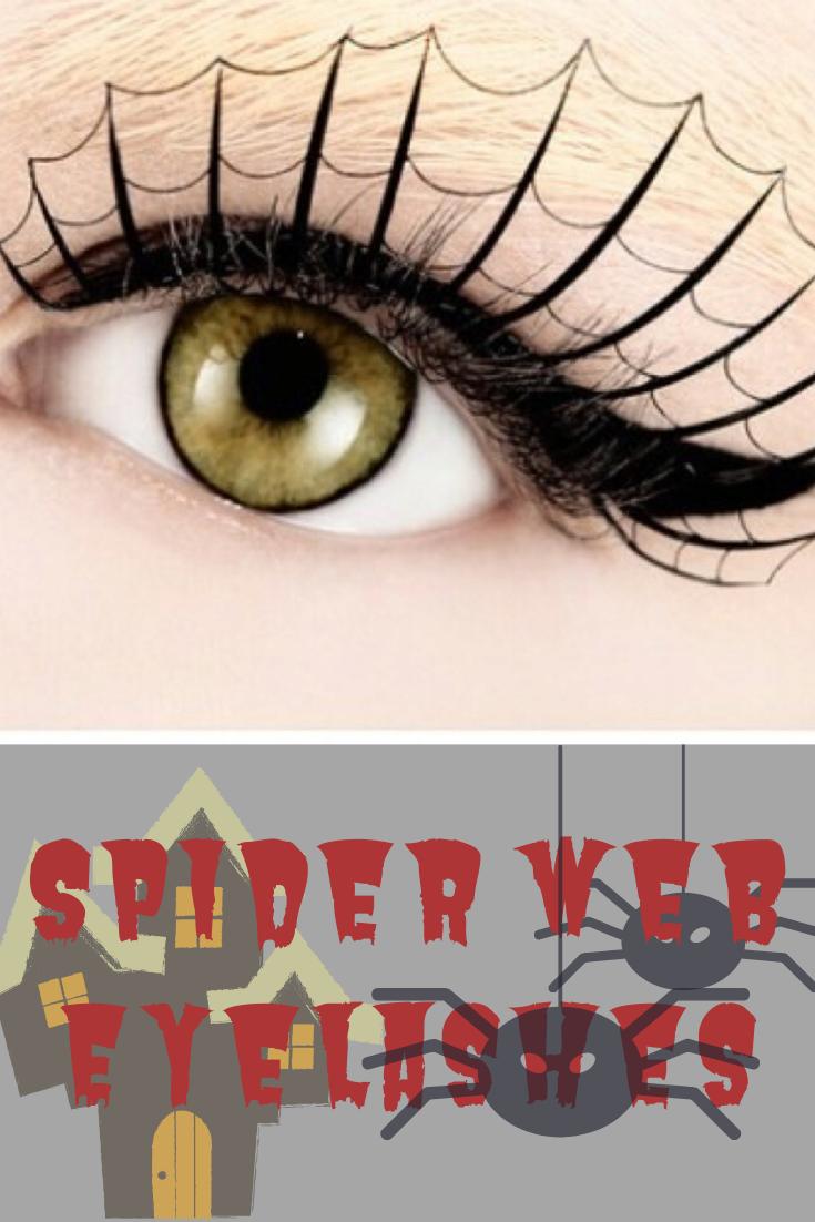 Spider Web Eyelashes in 2020 | Spider eyelashes, Makeup ...