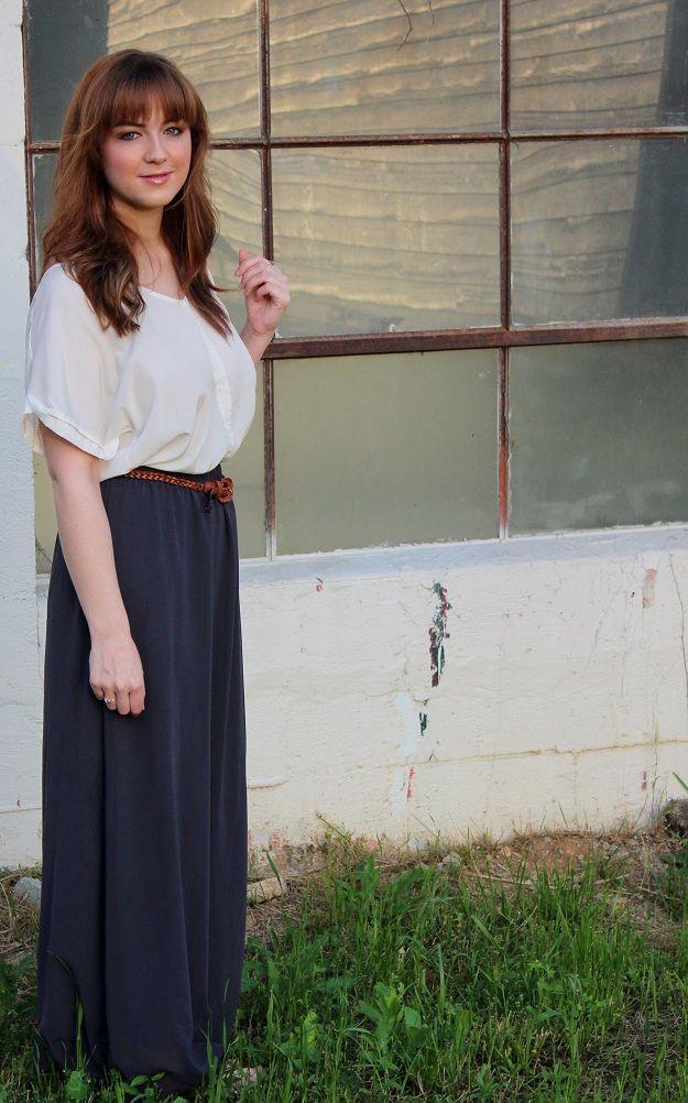 Maxi Lovin' on LoveShelbey.com #maxiskirt #maxifashion #fashion #fashionblogger #style #summerfashion