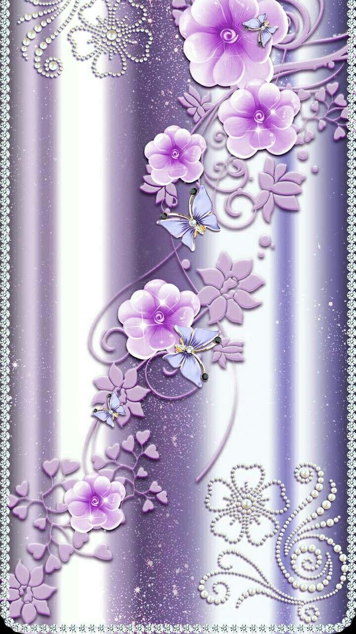 Diamond Wallpapers : L   Flower Phone Wallpaper, Diamond