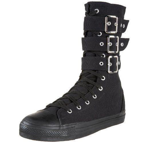 reputable site 3fec5 8ee2e Demonia by Pleaser Deviant-202 Sneaker Boot