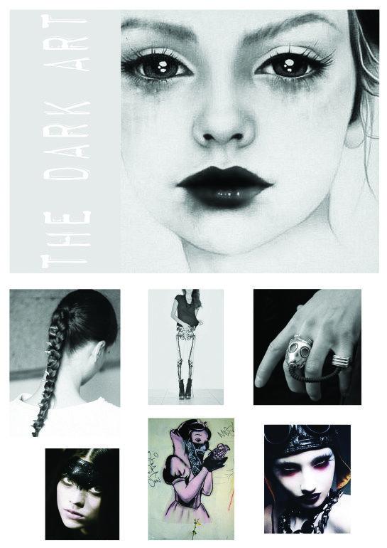 dark art title page