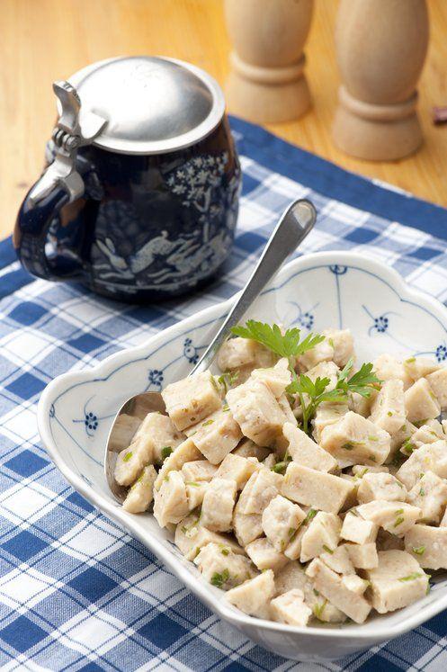 fränkischer Kloßsalat | German Food | Pinterest | Fränkisch ...