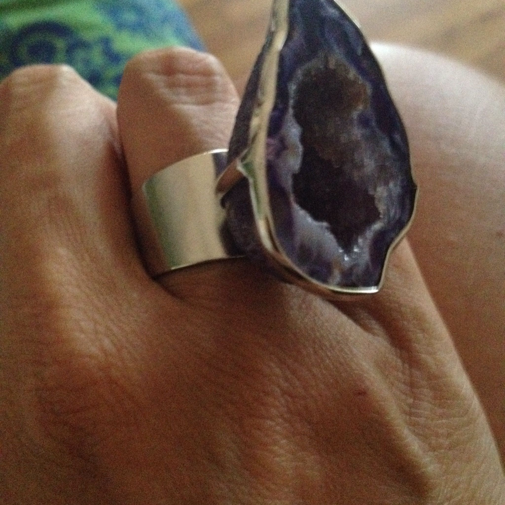 Agate ring adjustable $20 free shipping