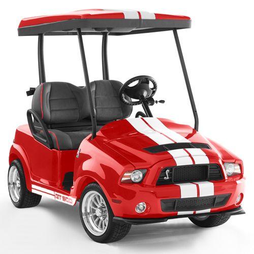2017 Ford Mustang Custom Golf Car