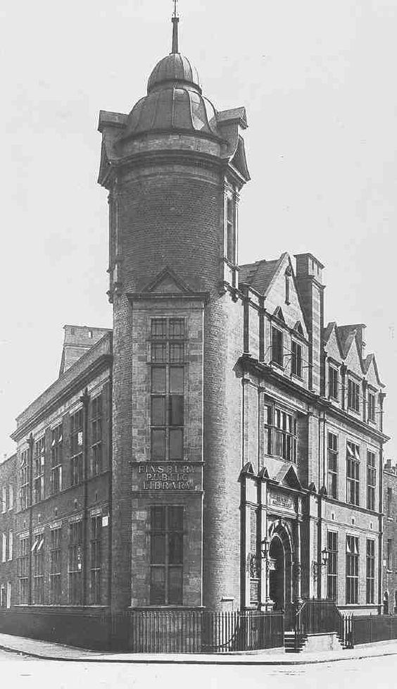 Finsbury Public Library, Skinner Street #lostlondon ...