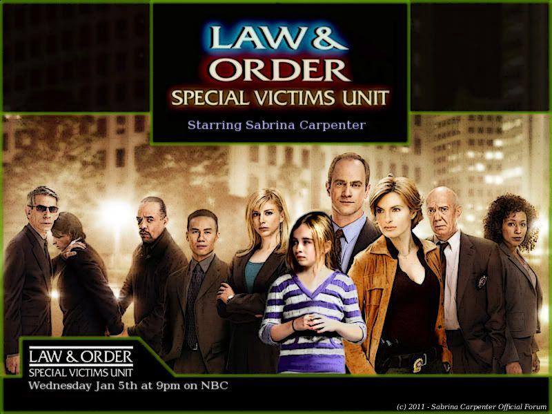 Access Denied Sabrina Carpenter Law And Order Special Victims Unit Special Victims Unit