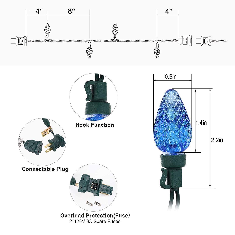 Wiring Diagram Led Christma Tree Light