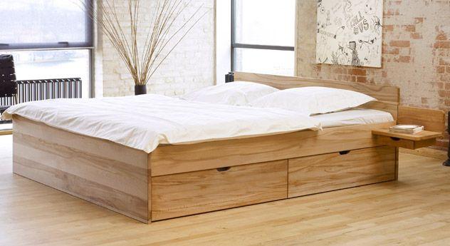Bett Norwegen Salbei Schlafzimmer Bett Mit Bettkasten Und