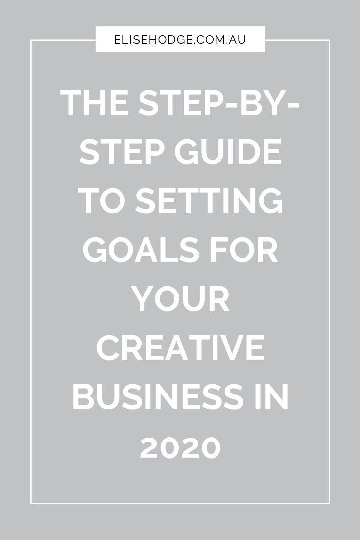 Goal setting — ELISE HODGE in 2020 Goal setting