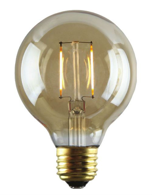 Nostalgic Led Filament Edison Bulb 2 Watt G25 Globe Edison Light Bulbs Light Bulb Globe Light Bulbs