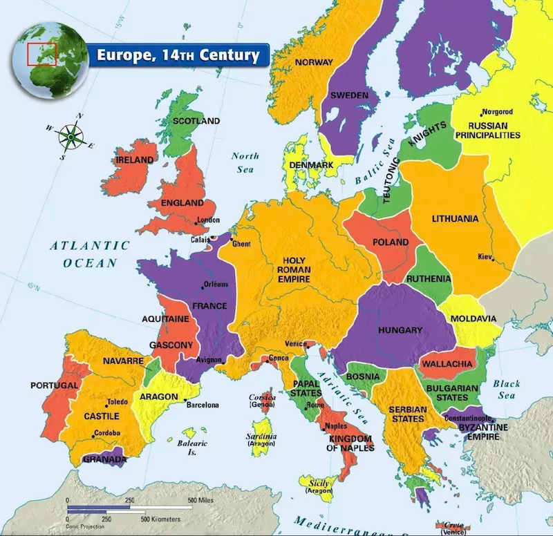 These Maps Show Europe In A New Light In 2020 Europe Map Map Medieval History