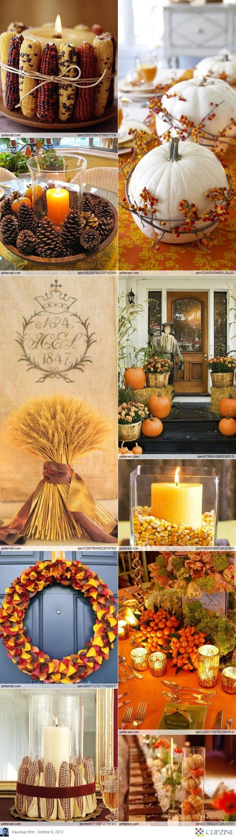 Most Awesome Thanksgiving Decoration DIY Project 1