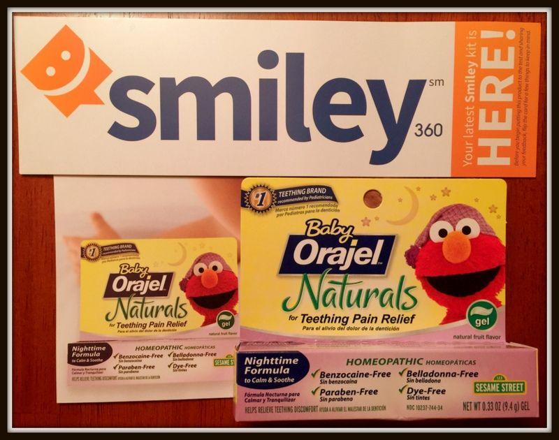 baby orajel naturals nighttime teething gel