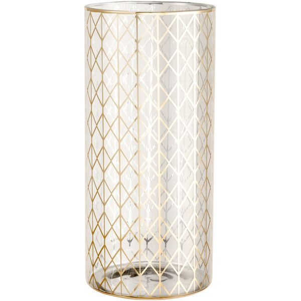 Hm Large Glass Vase 25 Liked On Polyvore Featuring Home Home