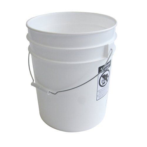 5 Gallon Heavy Duty White Plastic Bucket 10 Pack Argee Rg5700 10 Plastic Buckets Five Gallon Bucket Cheap 5 Gallon Buckets