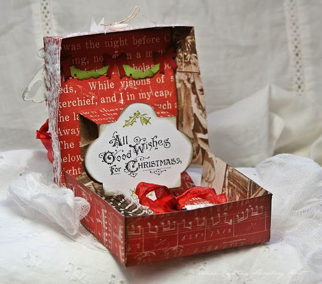 Crafting ideas from Sizzix UK Gift Box Christmas Crafts