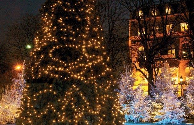 Decorations On The Champs Elysees Christmas In Paris Paris