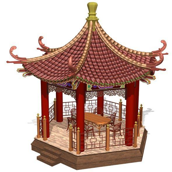 Chinese Gazebo In 2020 Chinese Architecture China Architecture Gazebo