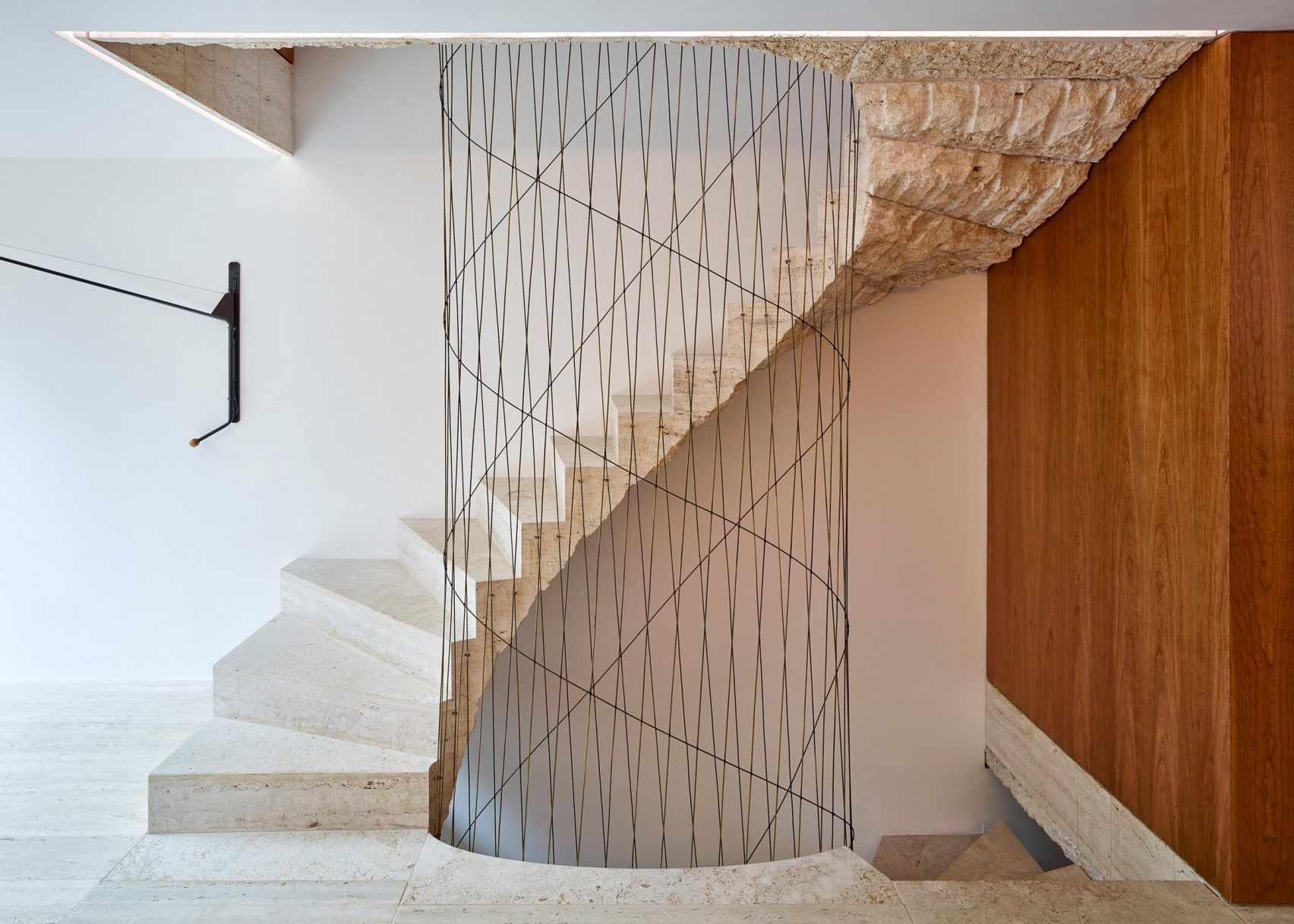 Home interior stairs amin taha reconfigures london home around lightwells and a spiral