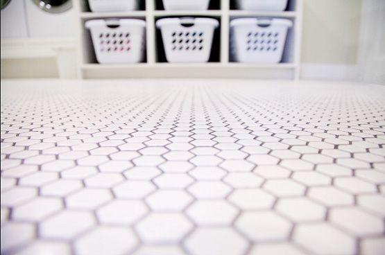 hex tile laundry room floor laundry room pinterest tyxgb76aj