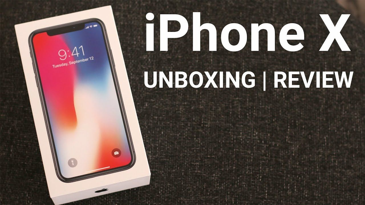Iphone X Unboxing My Thoughts Space Grey Iphone 10 Iphone 10 Iphone Unboxing