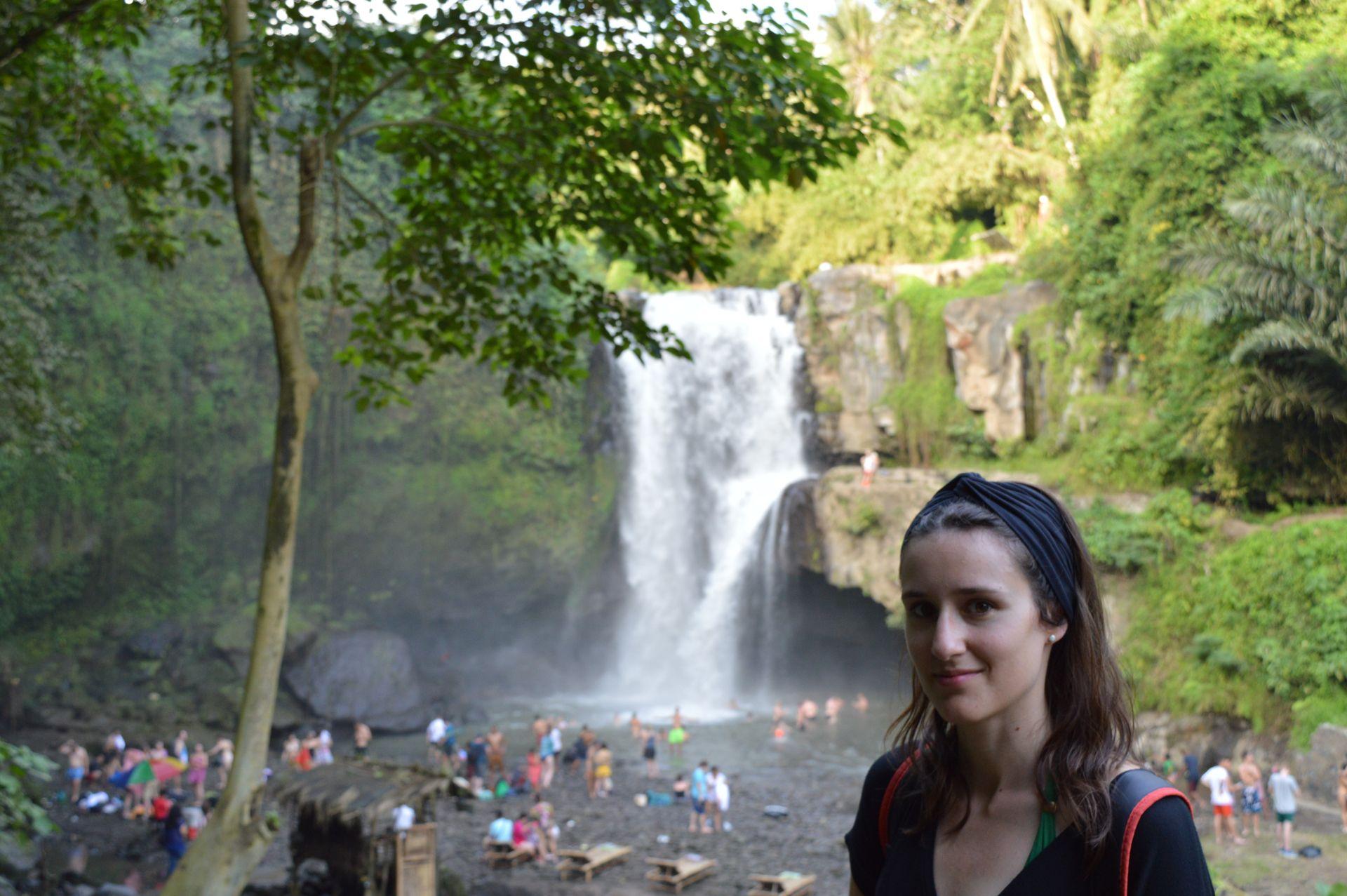 Tegenung waterfall Ubud Bali