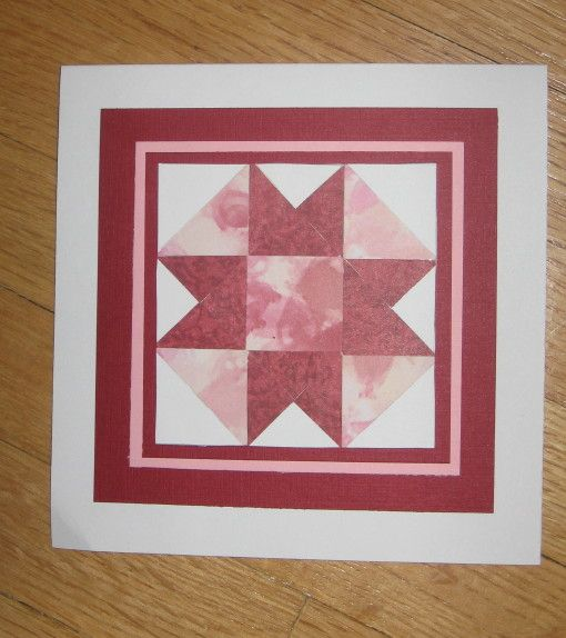TLC254 Paper Quilting Technique by Carolynn - Cards and Paper Crafts at Splitcoaststampers
