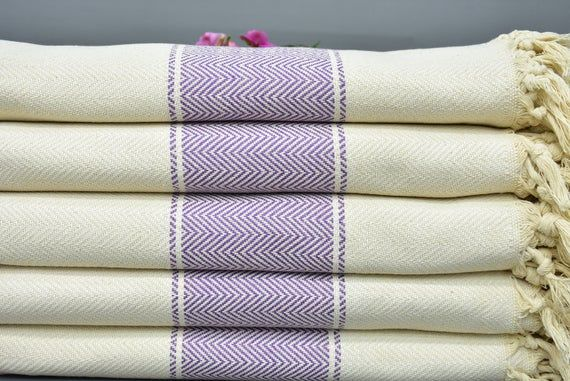 Beach Towel Turkish Bath Towel Peshtamal Towel Natural Cotton