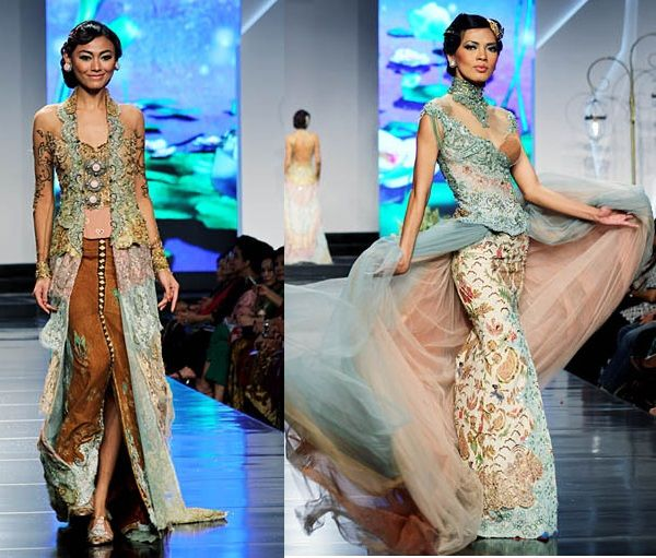 Wedding Gown Surabaya: Indonesian Beautiful Kebaya Lace Modern