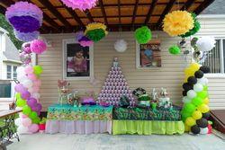 Thinker bell Green Lantern Birthday Comboparty 1st bday girl