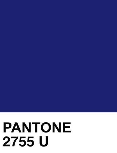 Pantone 2755 U Pantone Blue Pantone Color Pantone