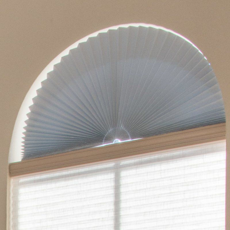 Light Fabric Room Darkening Arch Shade Arched Window Coverings