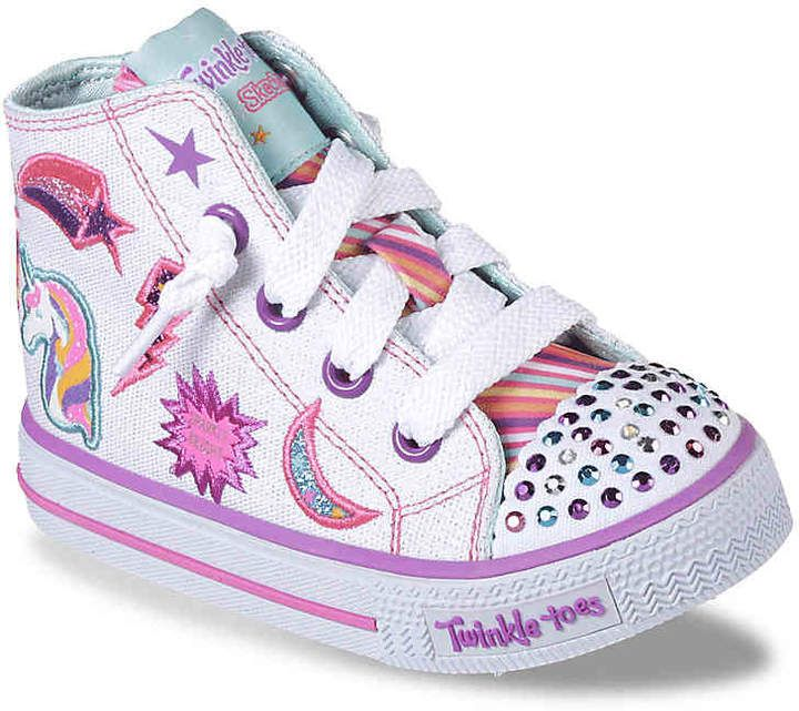 Twinkle Toes Sketchers Girls Toddler Shoes!
