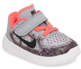 Infant Girl's Nike Free Run 2017 Sneaker